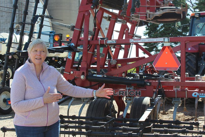 "Agricultural safety and health is more than job to Cheryl Skjolaas, Ag Safety and Health Specialist for UW Extension. ""It is a part of my life as my family and friends are involved farming,"" she said."