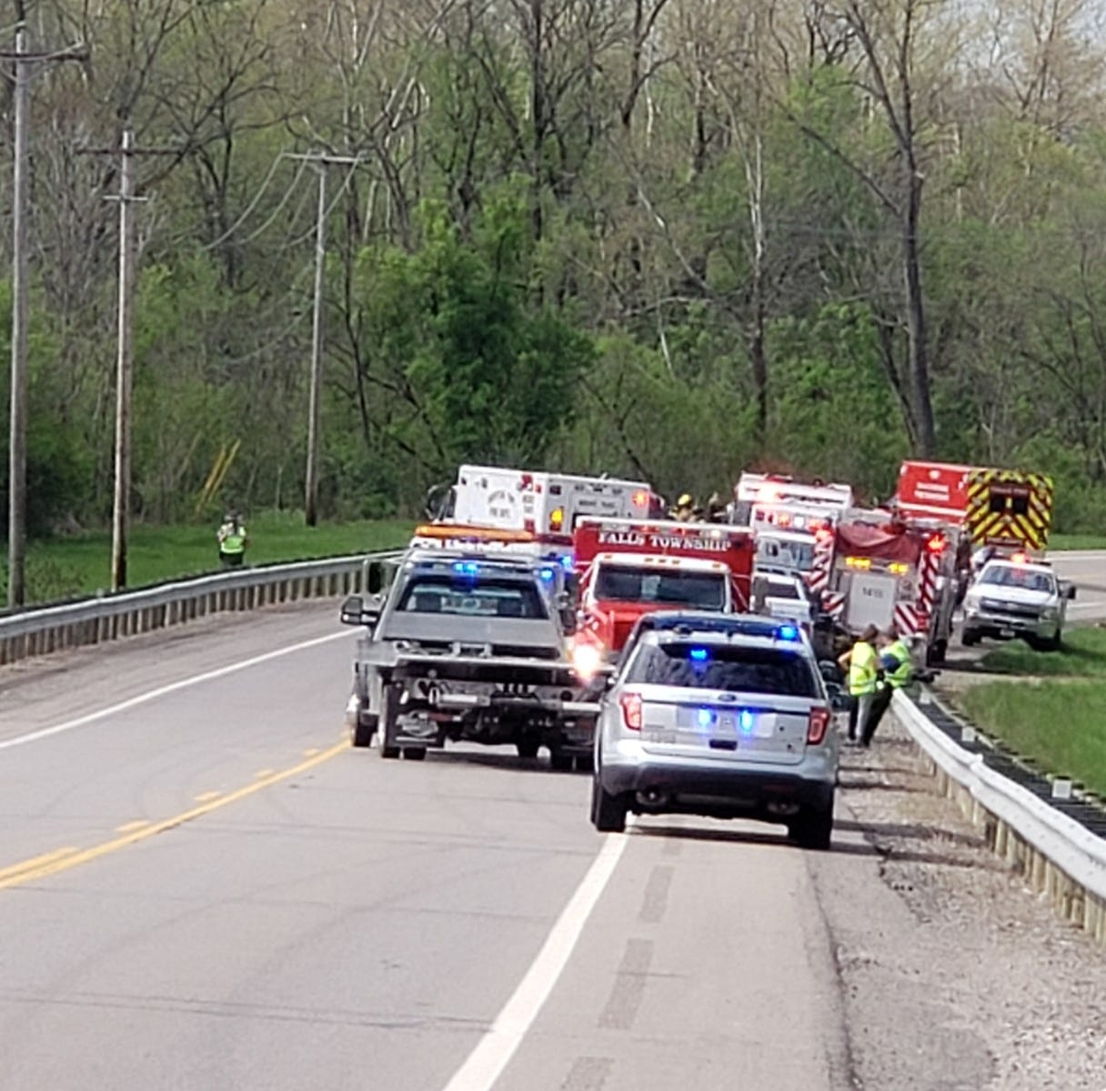 Coroner called in to accident scene on Maysville Pike