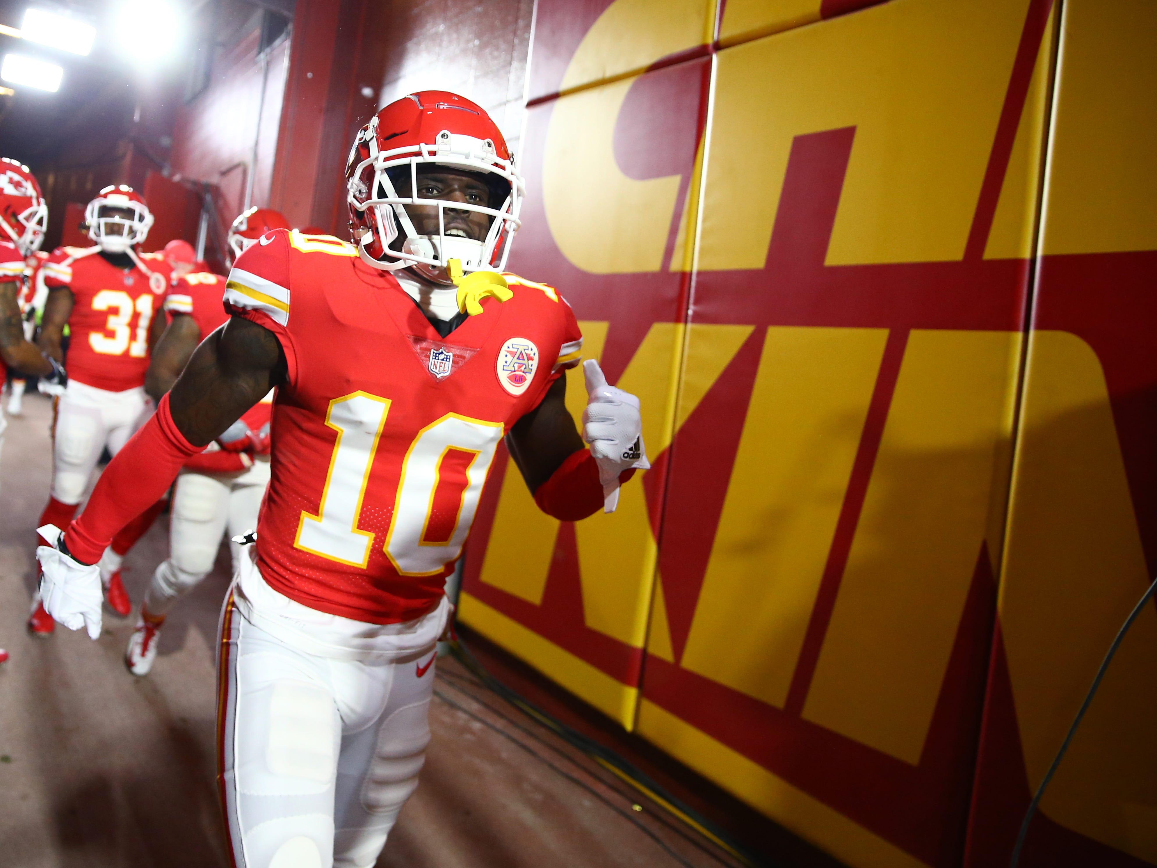 8. Chiefs (4): Spiraling Tyreek Hill situation raises disturbing questions about this team's internal workings and ability to contend if he's jettisoned.