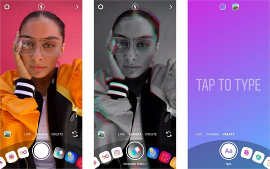 This new camera will make it simpler to use popular creative tools like effects and interactive stickers on Instagram