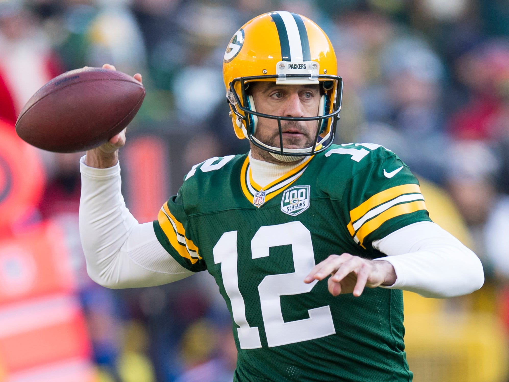 11. Packers (11): Given offseason focus slanted toward defense, apparently they're comfortable Aaron Rodgers and coach Matt LaFleur have sufficient weaponry.