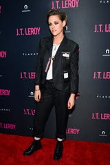 """Kristen Stewart attends the LA premiere of Universal Pictures' """"J.T. Leroy"""" at ArcLight Hollywood on April 24, 2019."""