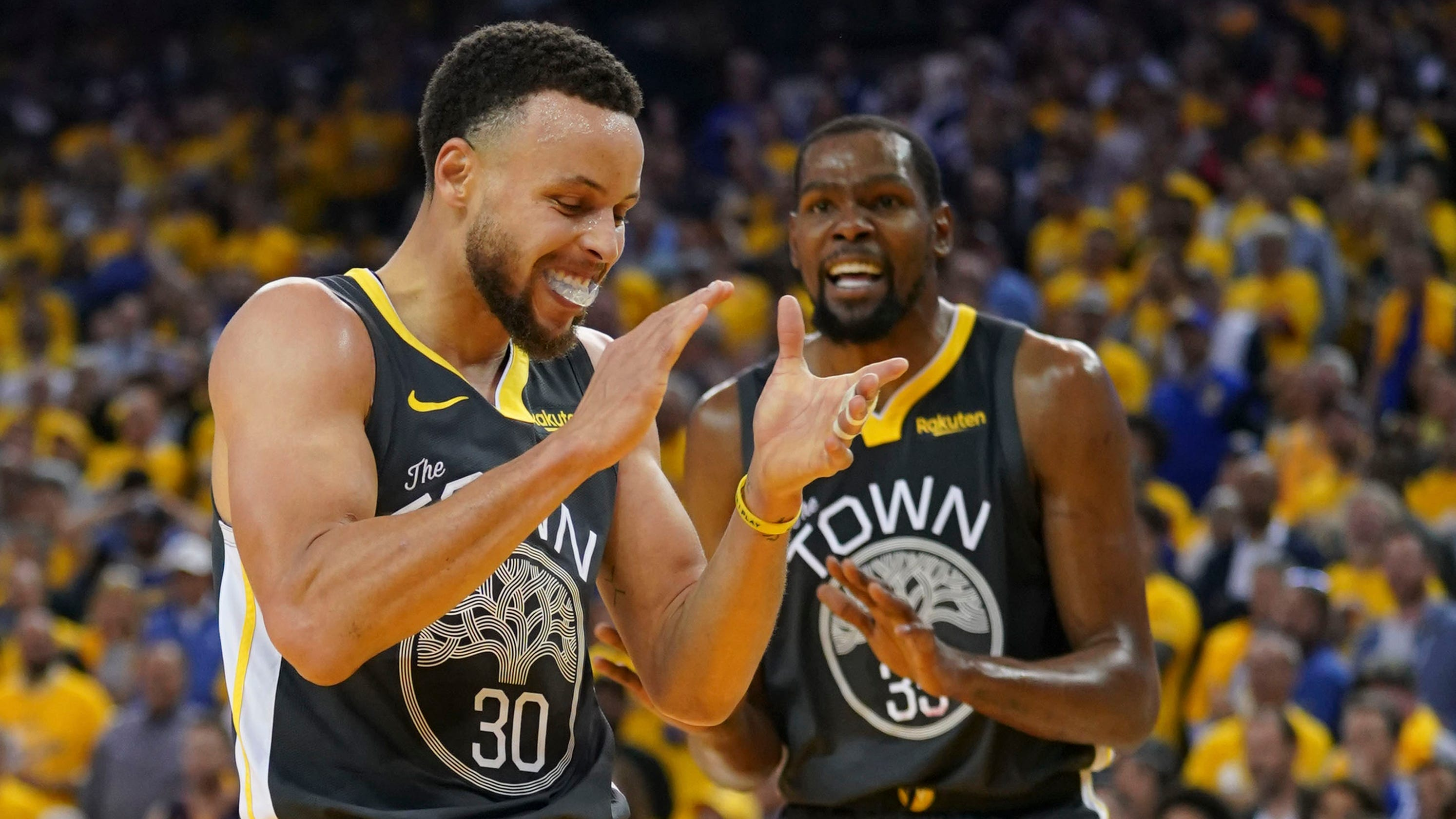 557b8890ffc NBA playoffs: Warriors take two-game series advantage over Rockets