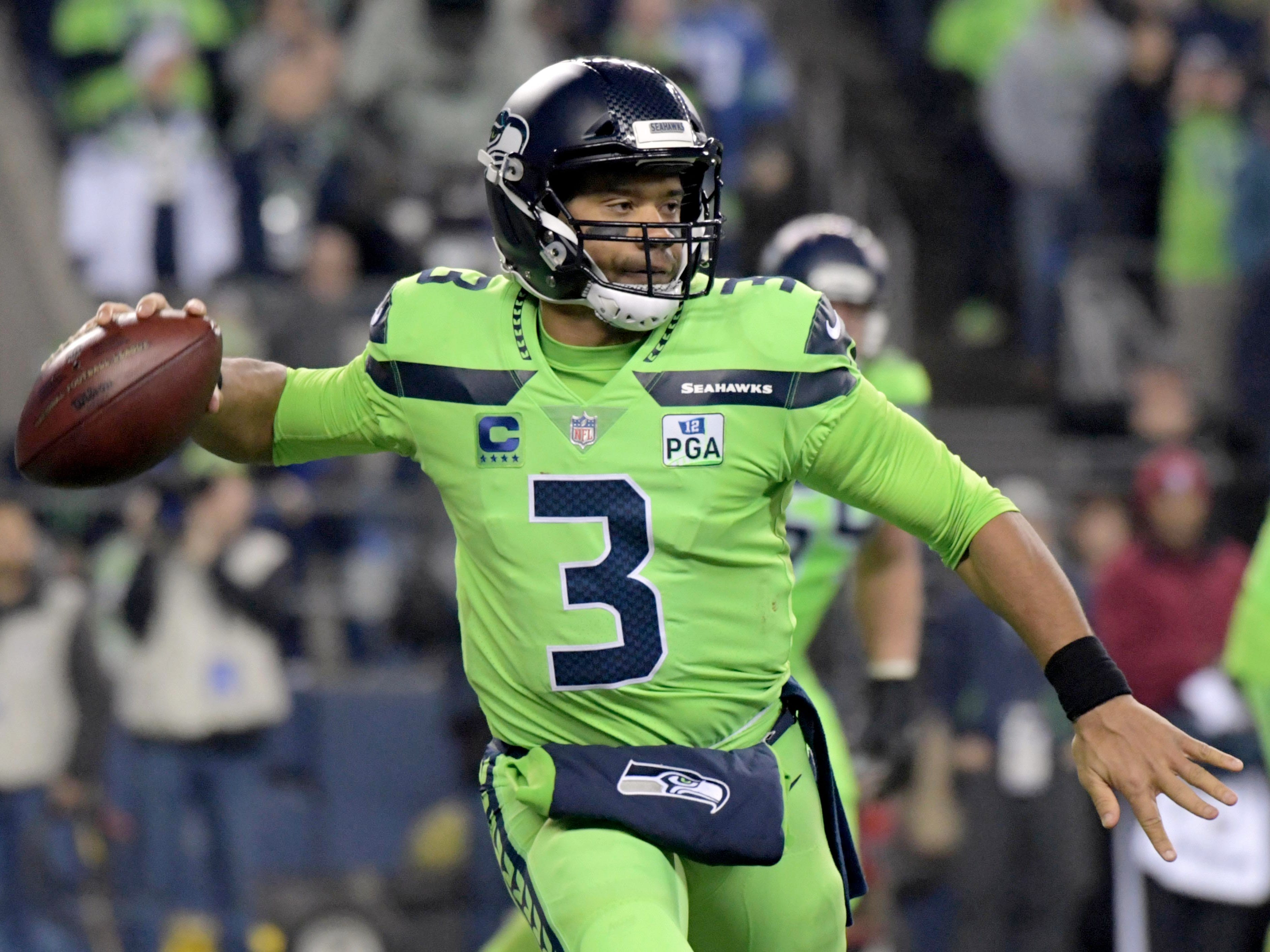 12. Seahawks (10): Can't fault decision to open vault for Russell Wilson, but Seattle may take step back as it waits for influx of rookies to assimilate.