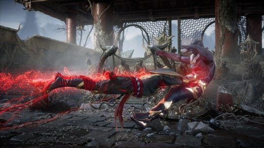 The sound team at NetherRealm Studios bashes and slashes fruit to get some of the sounds for 'Mortal Kombat 11.'