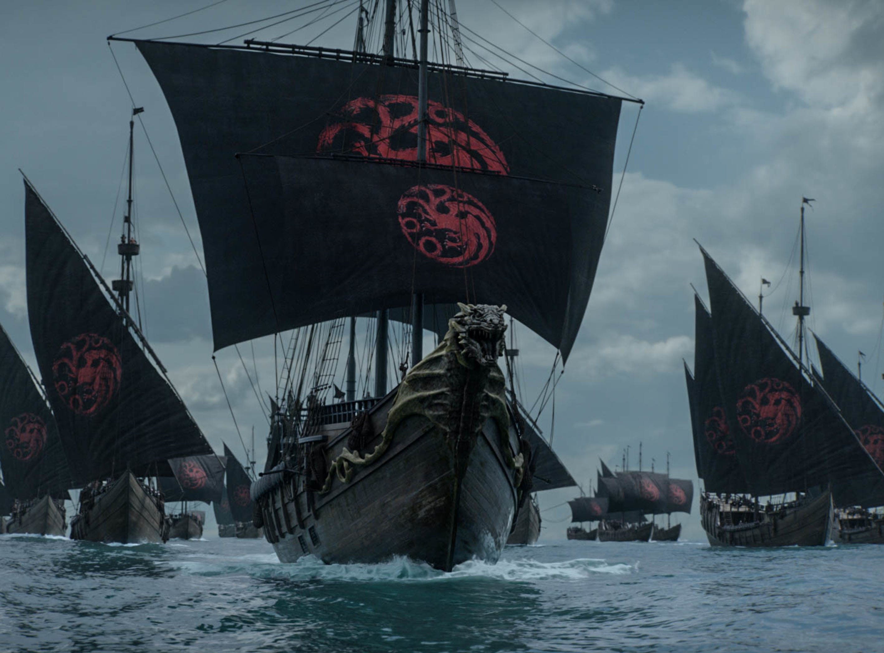 "Dany's ships on ""Game of Thrones."""