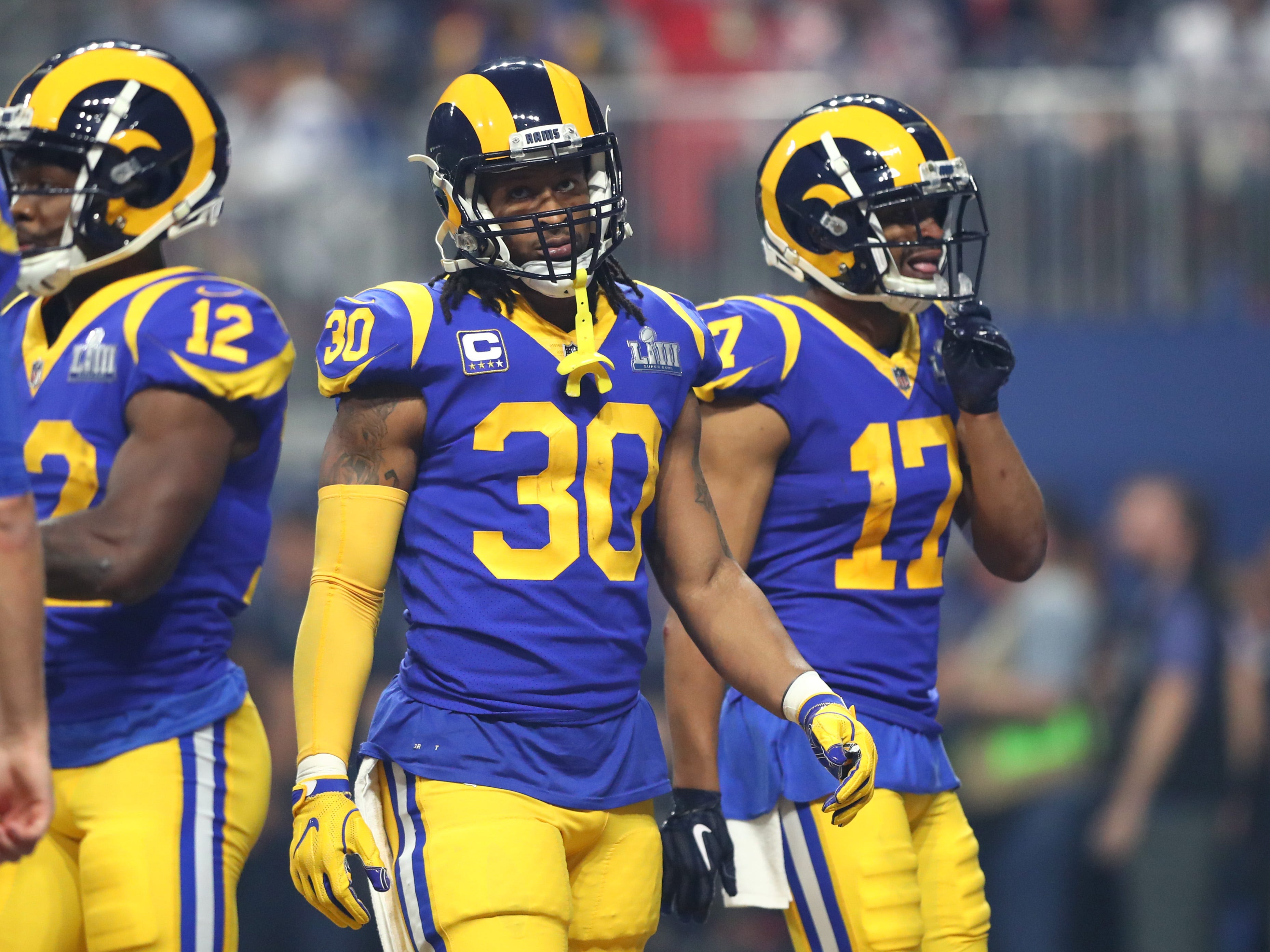 7. Rams (5): Until there's between-the-lines clarity on Todd Gurley's knee and ability to produce, it will be worth wondering how far NFC champs can go.