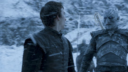 """Furdik literally made his mark in his first appearance as the Night King in Season 6's """"The Door,"""" in which he put a medieval GPS tracker on Bran (Isaac Hempstead Wright)."""