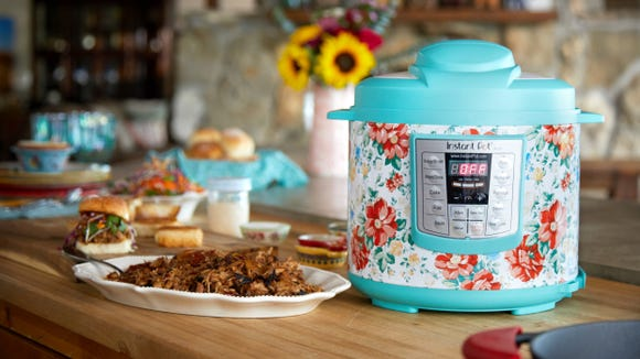 This floral Instant Pot is an immediate attention-grabber.