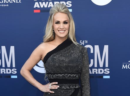 Carrie Underwood shares what mom life is like when you're touring with a newborn and a 4-year-old.