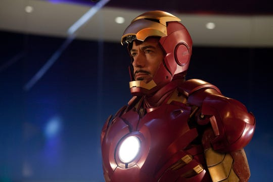 "Tony Stark (Robert Downey Jr.), seem here in ""Iron Man 2,"" was the life of every party - even in a suit of armor."