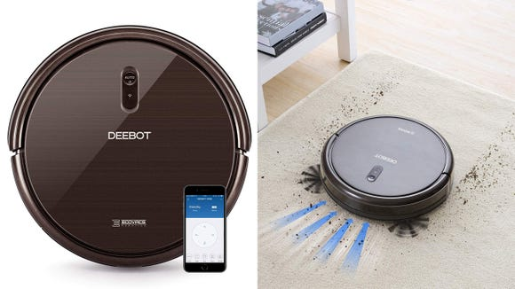 The Ecovacs Deebot N79S robot vacuum is at an amazing low