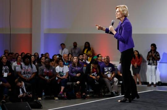 Sen. Elizabeth Warren, D-Mass., is a presidential candidate.