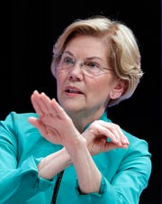 Sen. Elizabeth Warren, D-Mass., is a candidate for president.