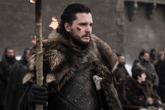 """Jon Snow (Kit Harington) on """"Game of Thrones."""""""