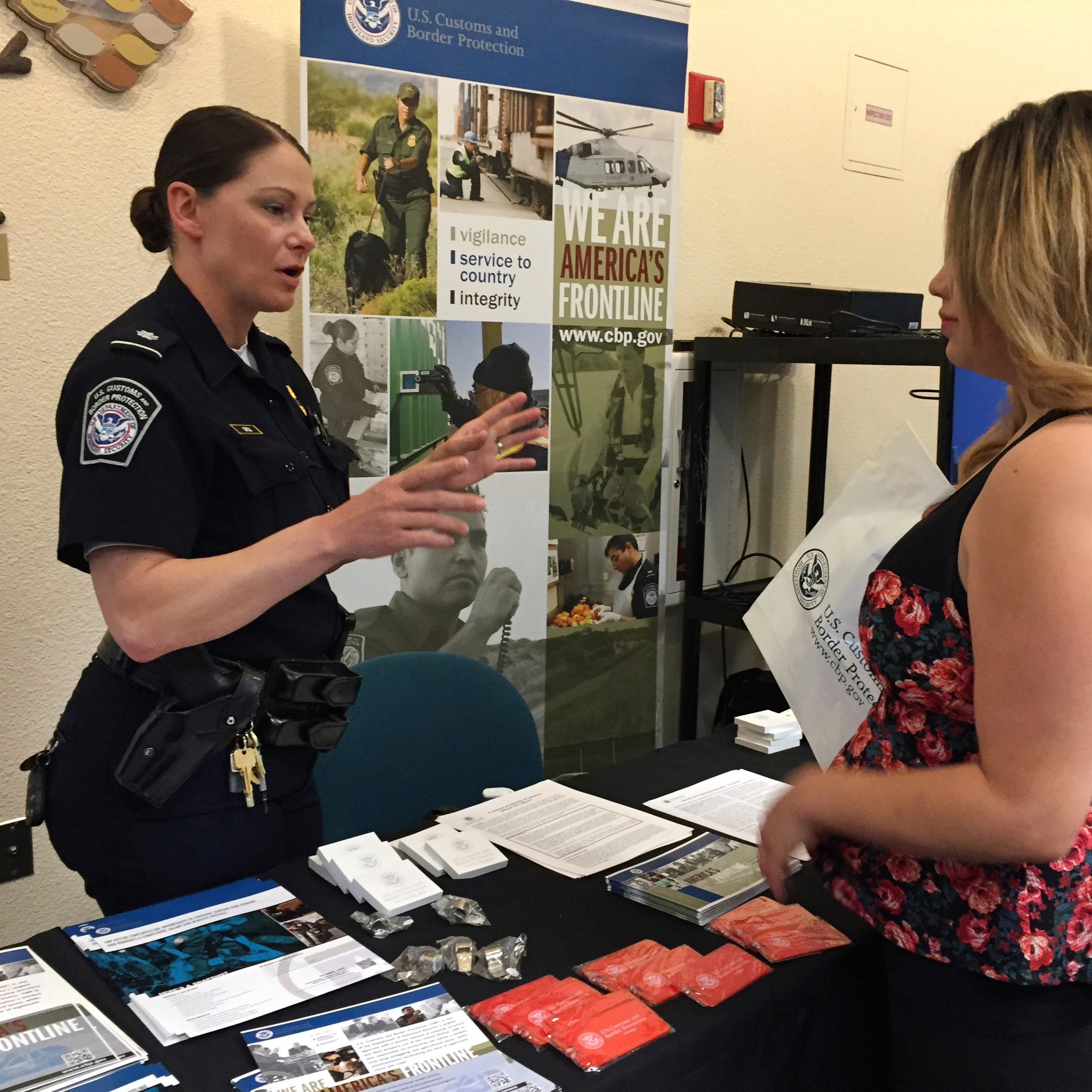 California college yanks invite for Customs and Border Protection to join job fair