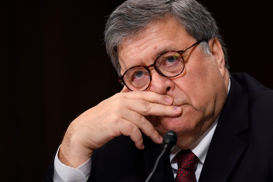 Attorney General William Barr testifies before the House Judiciary Committee hearing about special counsel Robert Mueller's report and Barr's handling of the investigation.