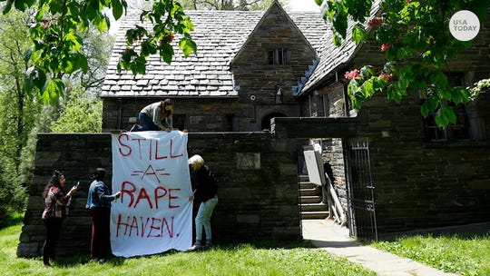 "Swarthmore College fraternities in Pennsylvania were suspended after leaked documents included references to a ""rape attic."""