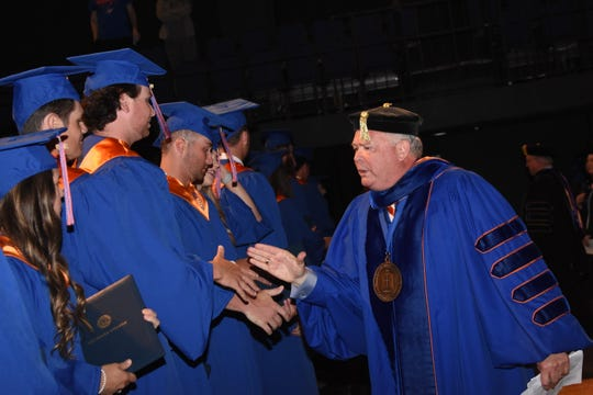 Louisiana College has rescheduled the  May 9 commencement services for August 8. The services will be held in Guinn Auditorium: one at 10 a.m. for undergraduate students and the other at 2 p.m. for graduate students. Both services will be livestreamed.