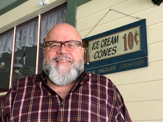 David Fernicola, owner of Day's Ice Cream in Ocean Grove, considers his next step after losing his boardwalk store in a fire in April.