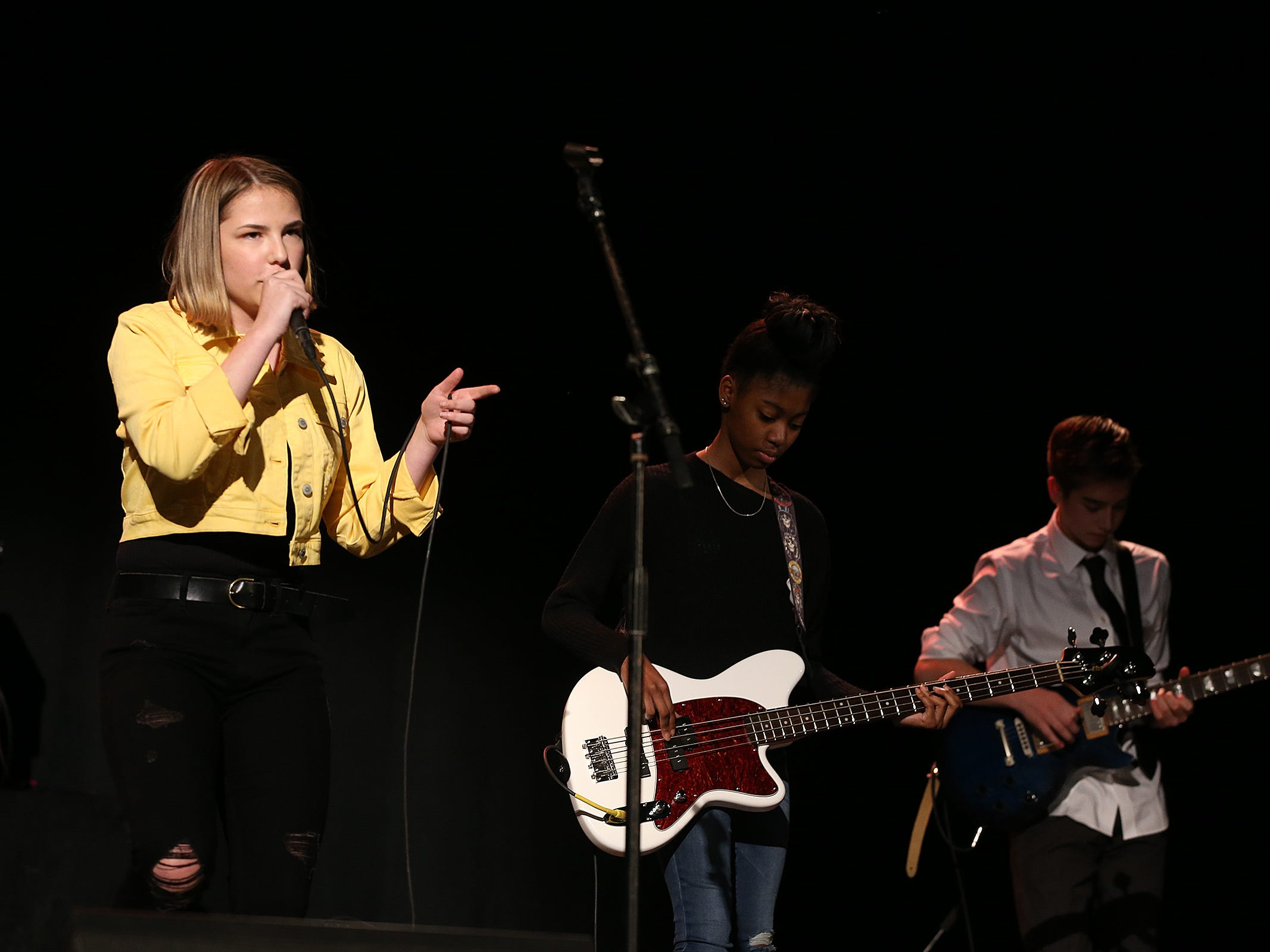 """Lakehouse Junior Pros perform after """"Asbury Park: Riot, Redemption and Rock 'N' Roll"""" documentary screening at the Paramount Theatre during the Asbury Park Music and Film Festival in Asbury Park, NJ Sunday, April 28, 2019.  #APMFF"""