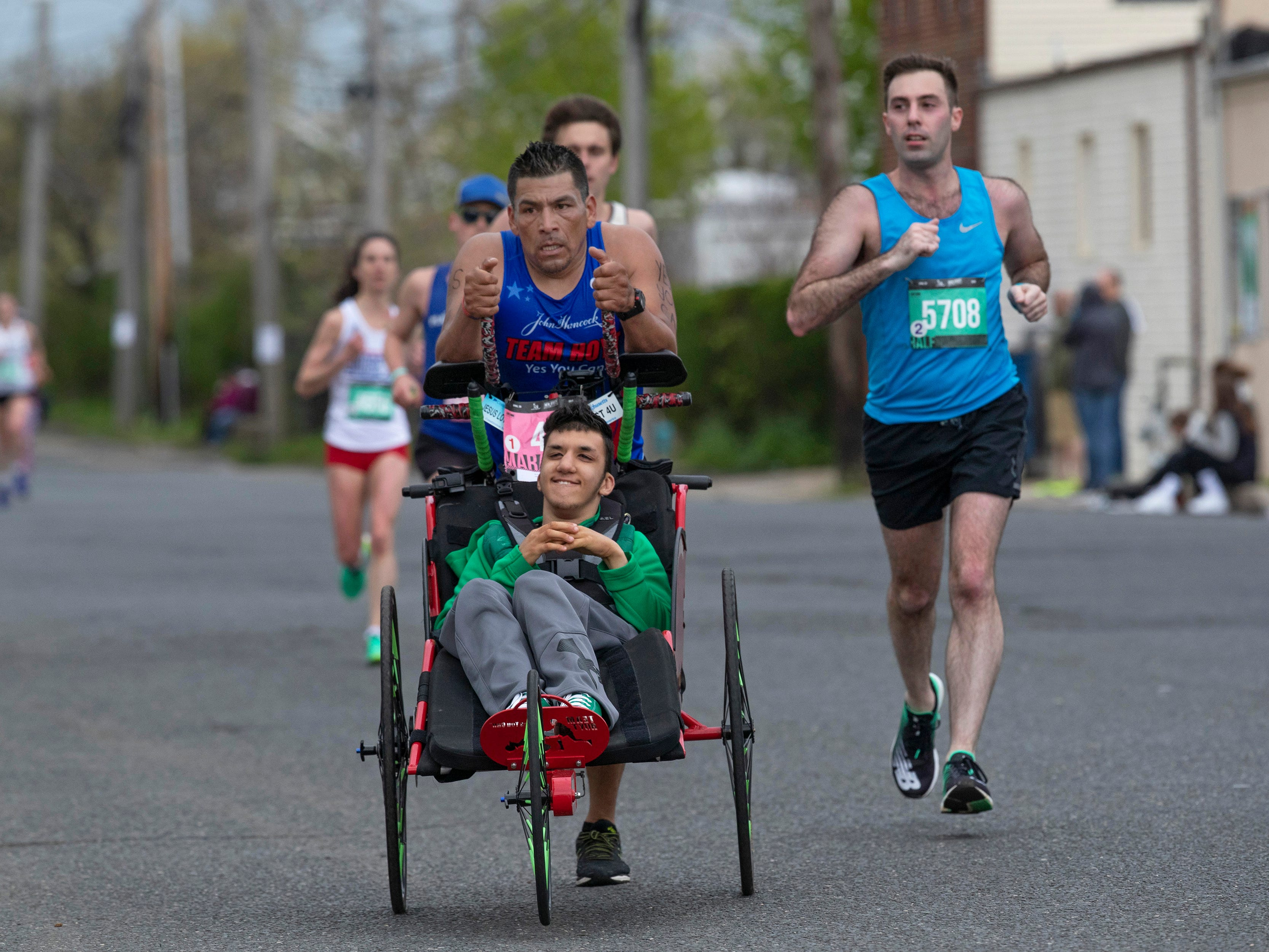 2019 Novo Nordisk New Jersey Marathon and Half Marathon which started at Monmouth Park in Oceanport and ended at Ocean Promenade in Long Branch.
