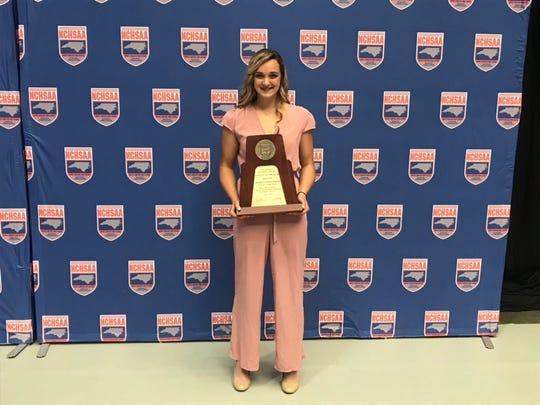 Owen's Chesney Gardner named NCHSAA female athlete of the year