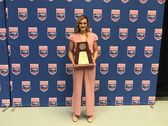 Owen's Chesney Gardner named NCHSAA female athlete of the year