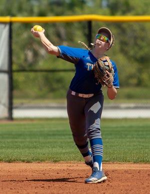 Nikki Pennington of EFSC softball. Courtesy of Eastern Florida State.