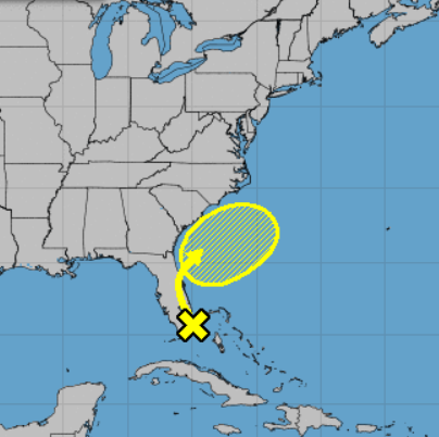 Odds of South Florida disturbance organizing into tropical system tumble to 10%