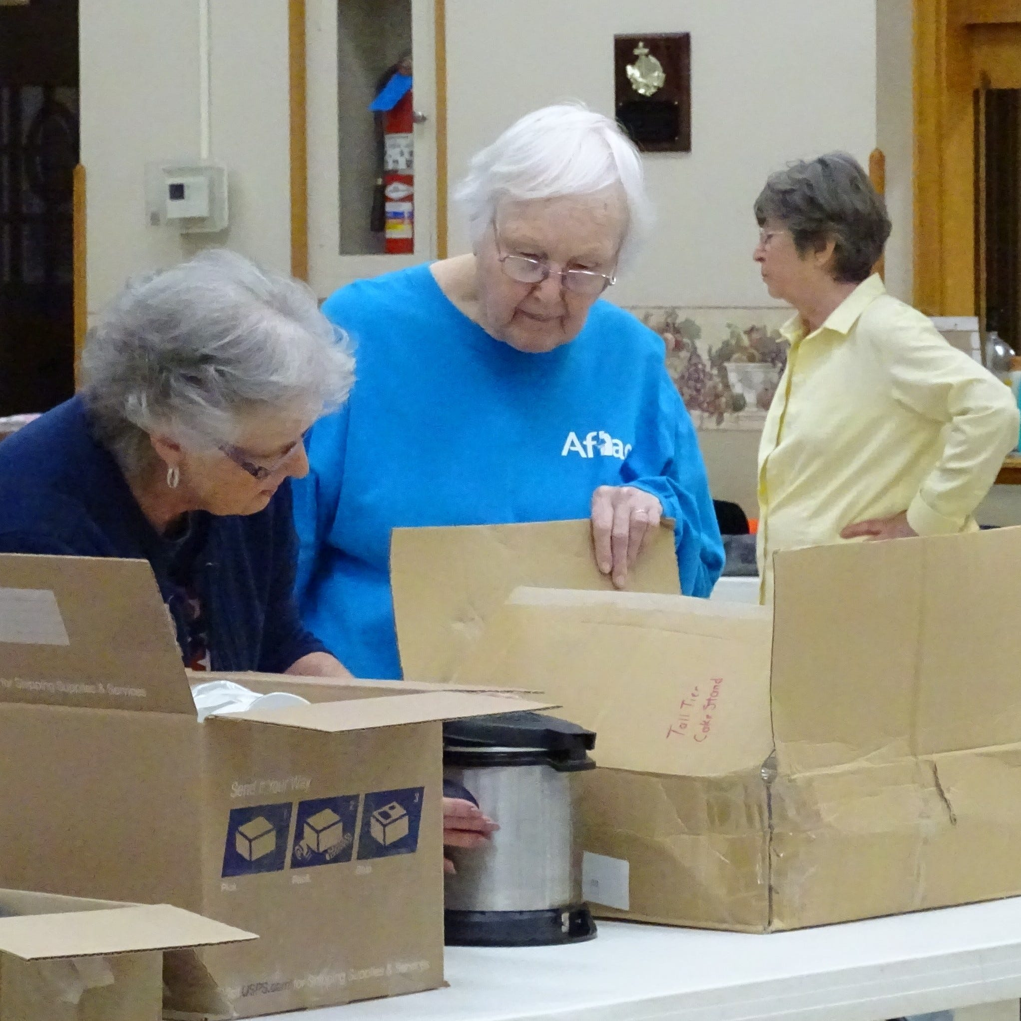 'A little of everything' at church rummage sale