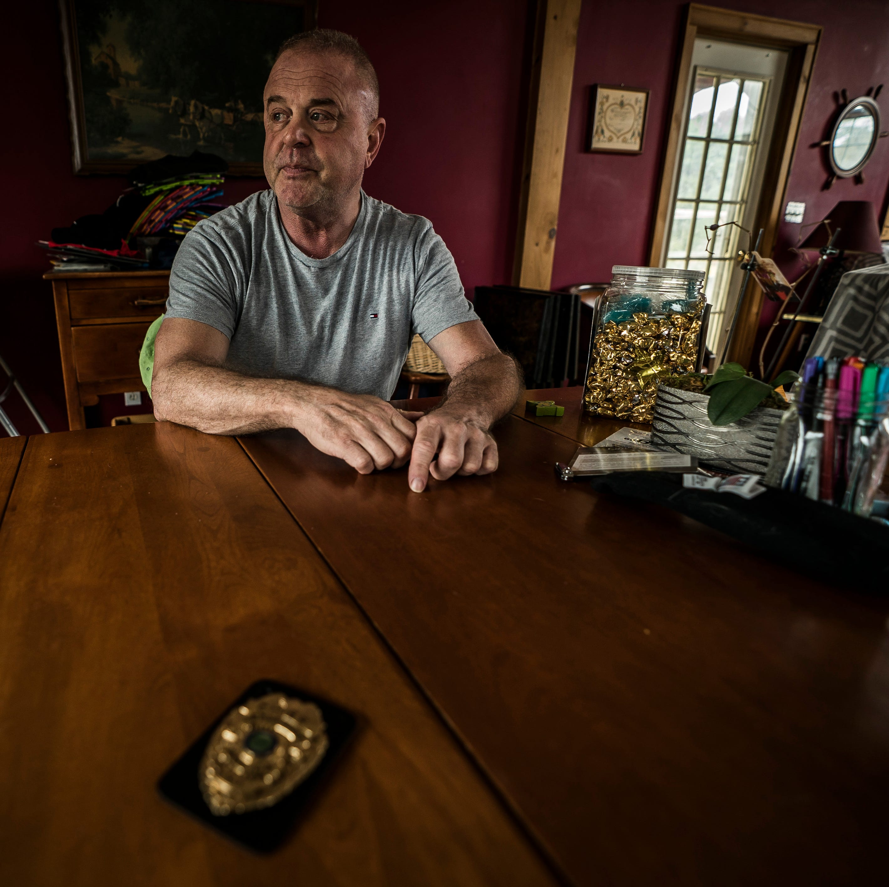 A life in recovery: From using his police badge to score to helping those in recovery