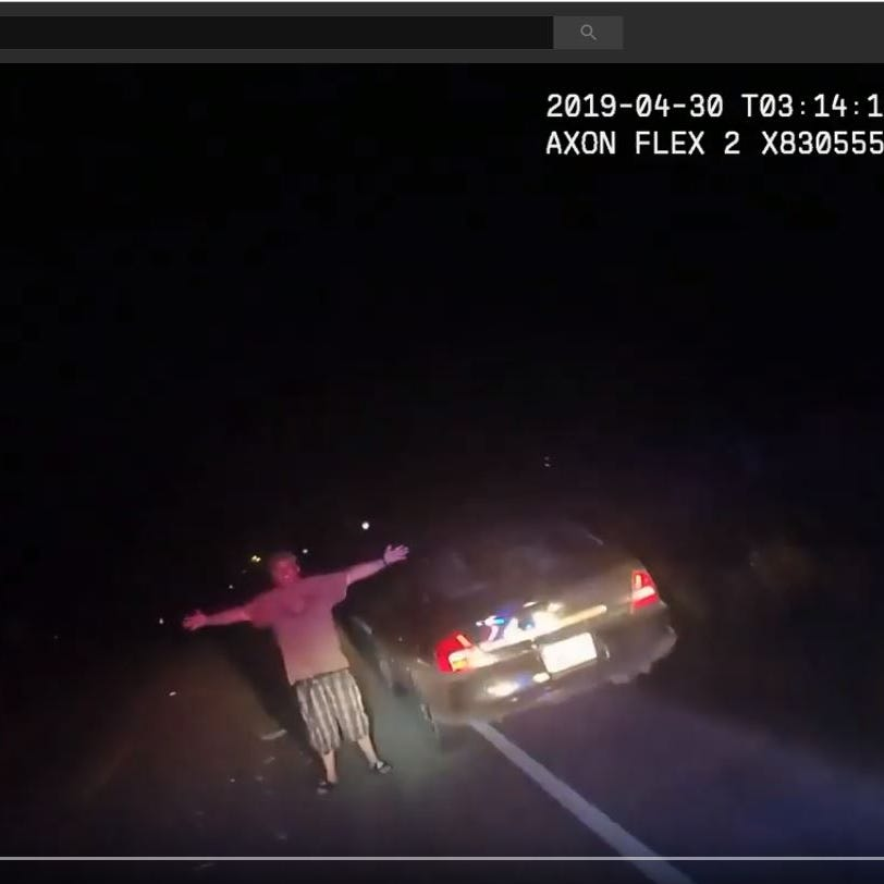 Body cam captures Texas man dropping pants, throwing joint at officer during traffic stop