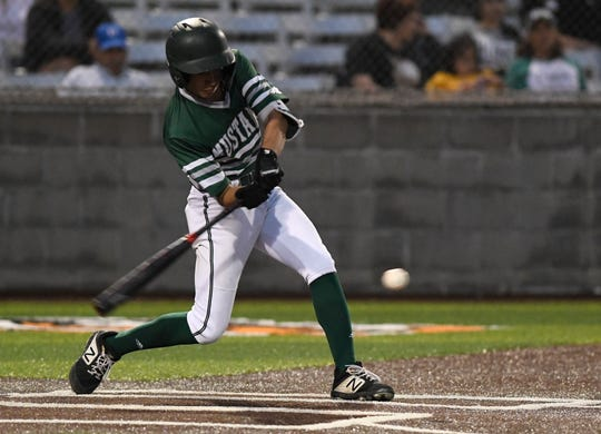 The King Mustangs forced a decisive third game with a 5-0 win over Tuloso-Midway in Game 2 of a Class 5A bi-district baseball series on Thursday.