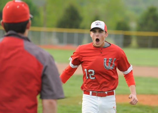 Westfall baseball's Luke Blackburn was the winning pitcher, threw a complete game, didn't allow an earned run, and he struck out eight batters in a 2-0 win over Unioto on Wednesday and was nominated for the Gazette's Athlete of the Week poll.