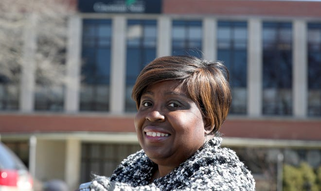 Marsha Thomas is a recipient of the Distinguished Alumni Award from Cincinnati State.