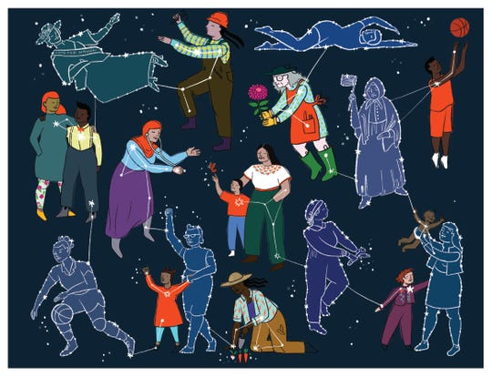 Chicago artist Molly Costello created a design to celebrate the 150th anniversary of the YWCA Greater Cincinnati and its mission.