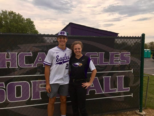 Caden Crawford, left, and Finley Payne are freshmen at CHCA and cousins. Both are having a serious impact in their first varsity season.