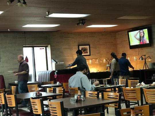 A lunch buffet is served from 11 a.m. to 3:30 p.m. at Namaste Indian Restaurant in Clive.