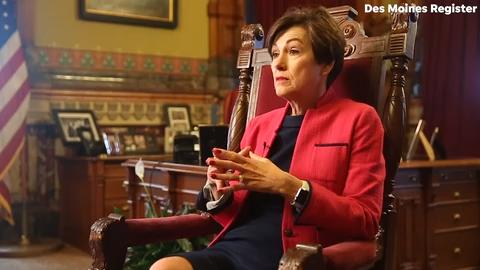 Iowa Democrats sue Gov. Kim Reynolds over law changing Iowa Supreme Court selection