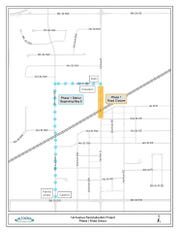 The portion of First Avenue in Altoona between Second Street Northwest and Second Street Southeast will close Monday for more than three months for a reconstruction project.