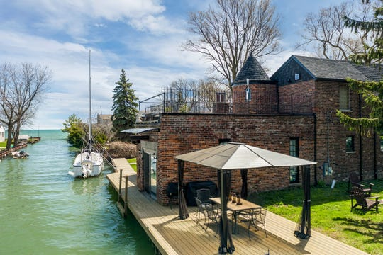 """The former home of rock musicians Patti and Fred """"Sonic"""" Smith in St. Clair Shores is for sale."""