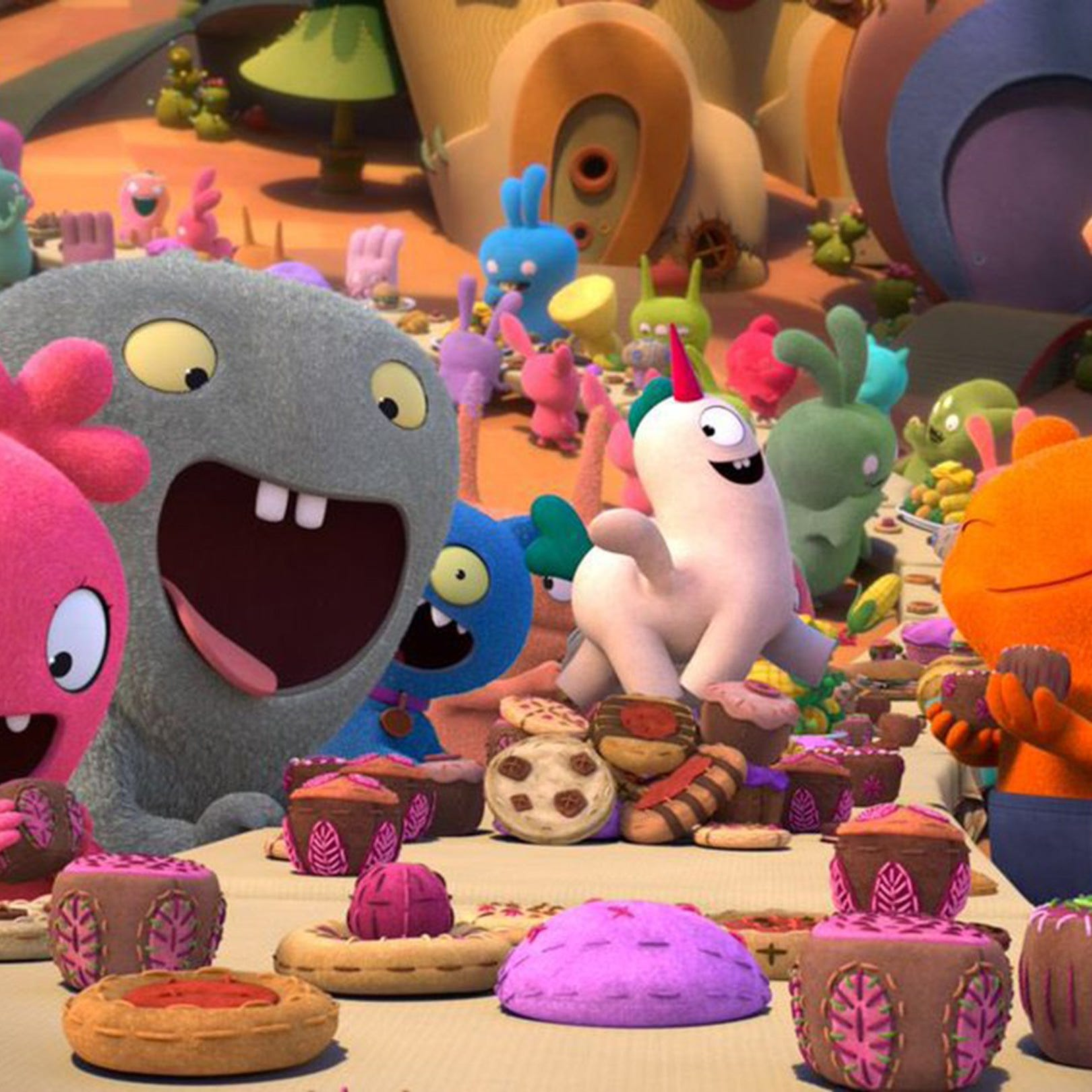'UglyDolls' delivers another tired self-esteem lesson