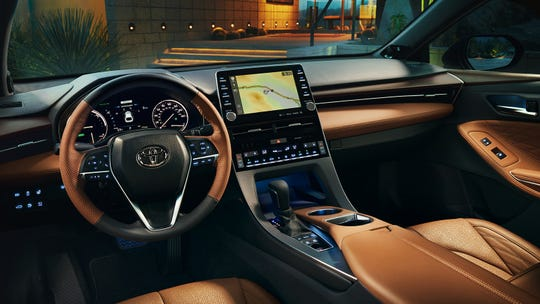 The Avalon's console is pretty, with a well-functioning touchscreen.