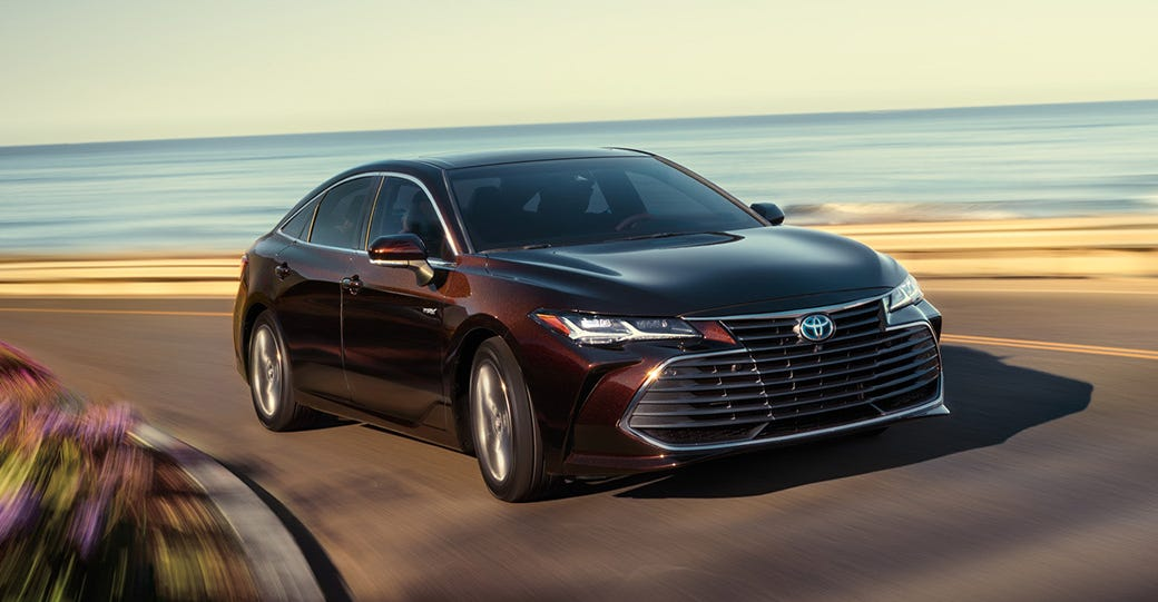The sleek Avalon hybrid provides plenty of power for accelerating and passing, but lacks the fun of its Jersey Shore namesake.