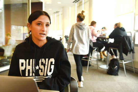 Adrianna Touma, a member of Phi Sigma sorority, said Greek organizations get a bad rap because of a few individuals.
