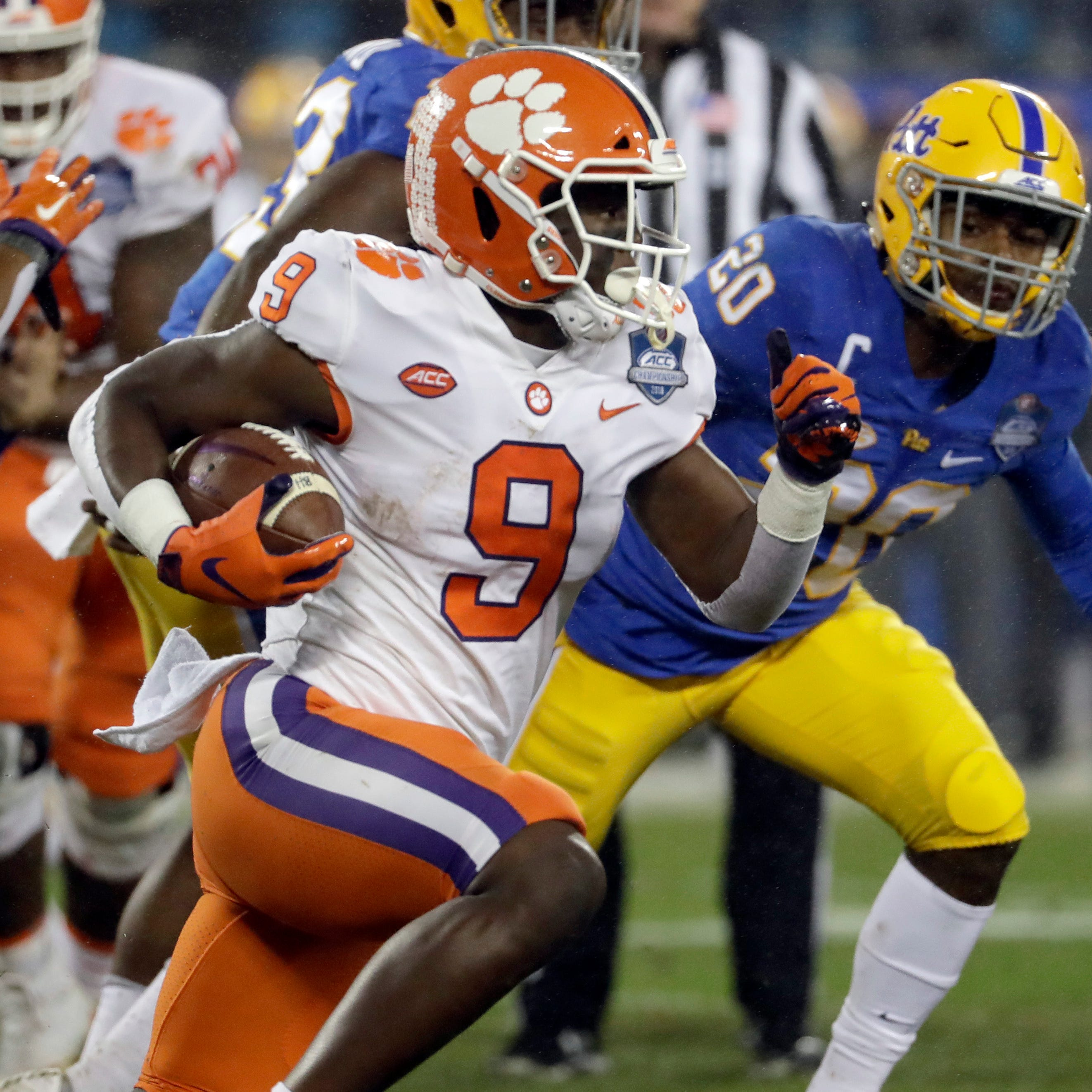 Lions take RB Travis Etienne at No. 23 in Todd McShay's early 2020 NFL mock draft
