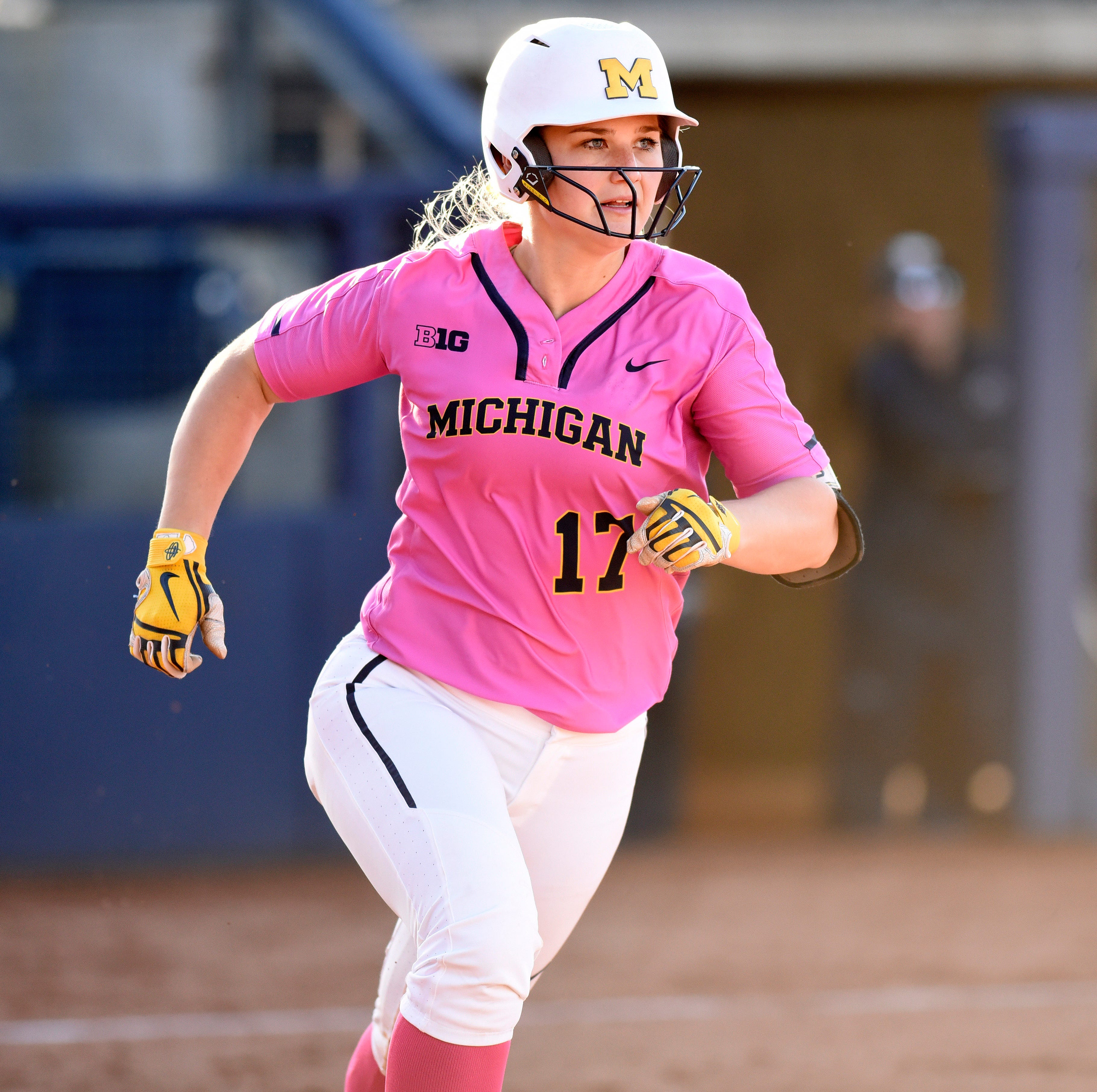 Michigan softball smashes Maryland to win Big Ten championship