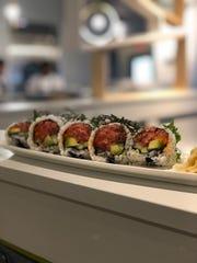 Zao Jun serves sushi, sashimi and maki rolls, like this Michigan roll.