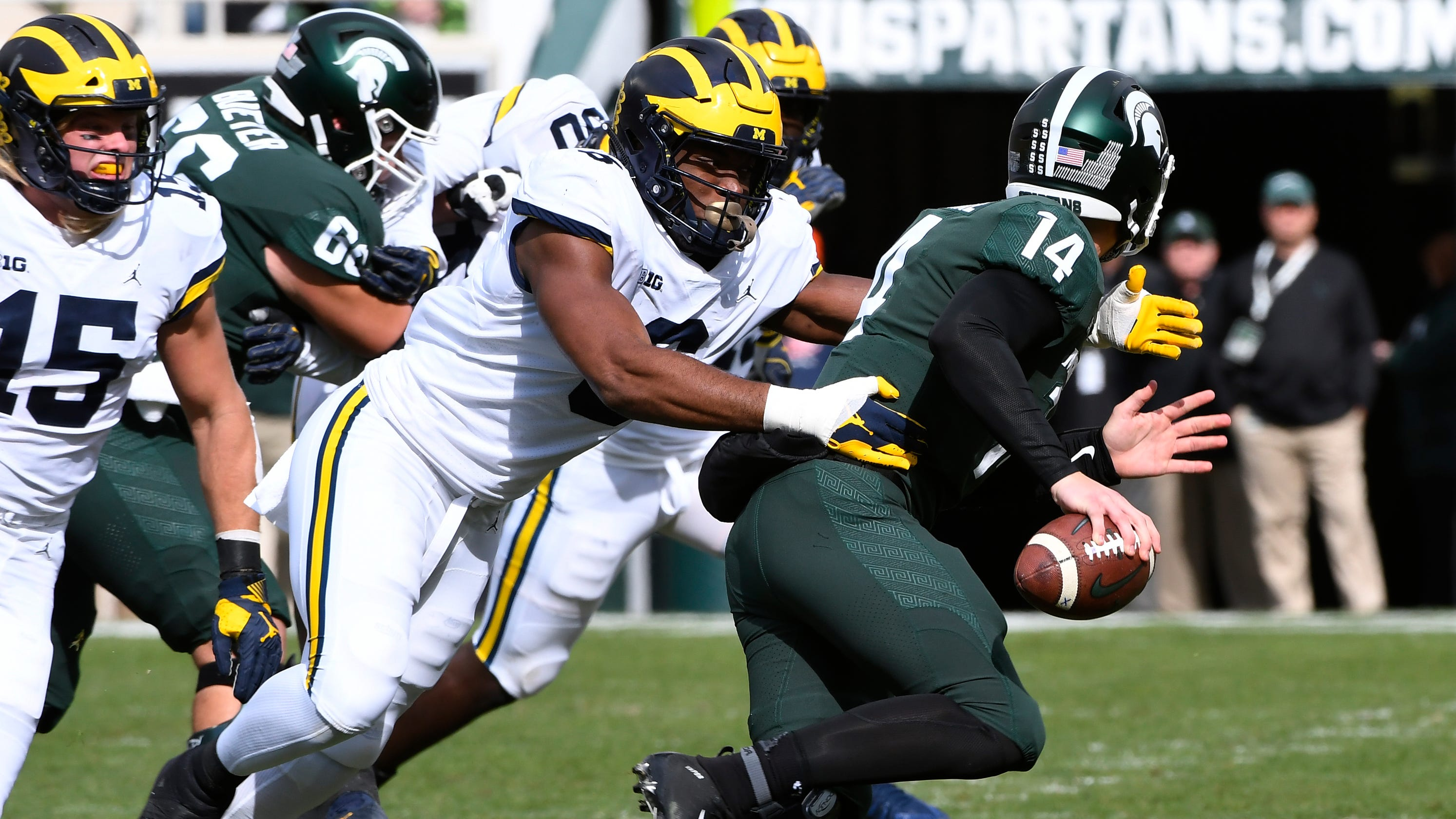 Michigan, Michigan State In Sports Illustrated Post-spring